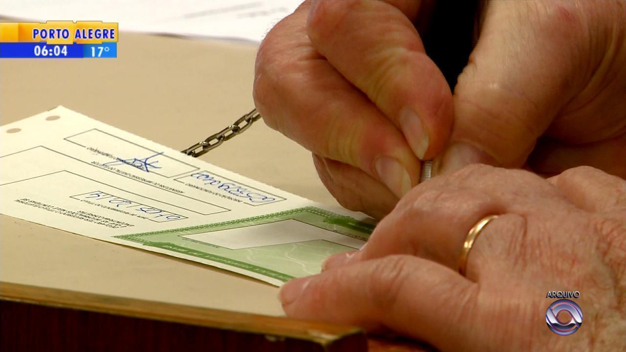 Eleitores de 89 cidades do RS devem fazer o recadastramento biométrico