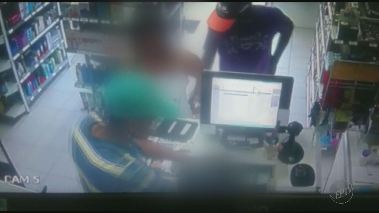 Polícia Civil procura suspeitos de realizar arrastão no Centro de Jaboticabal, SP