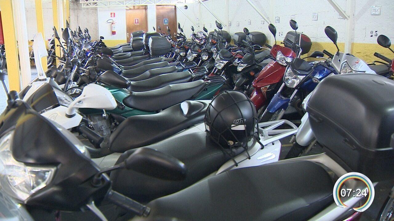 Aumenta a frota de motos em Taubaté