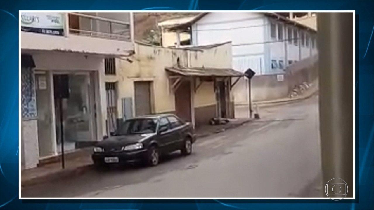 Polícia procura bandidos que atacaram bancos e mataram PM e vigilante na Zona da Mata