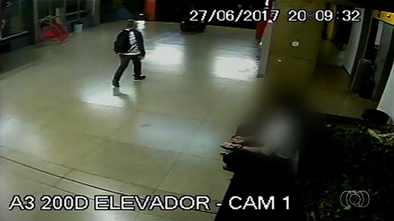 Homem que furtou bolsas em igreja também é supeito de cometer crime em faculdade de Goiás