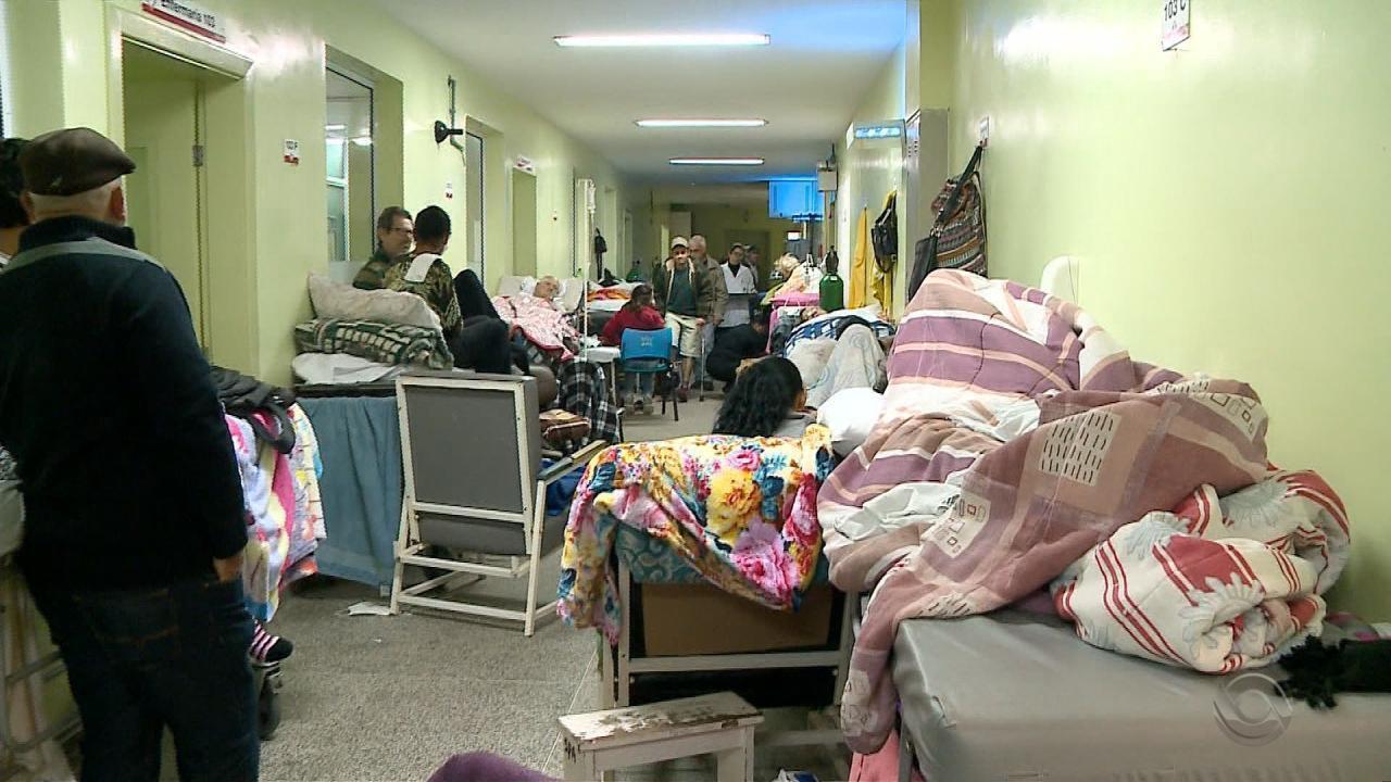 Hospital Universitário de Rio Grande tem 50 pacientes para 10 leitos