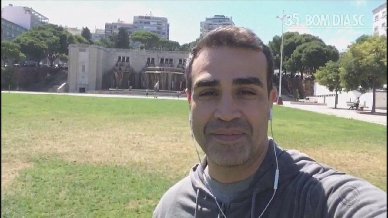 Alexandre Oliveira relembra os momentos marcantes no Bom Dia SC