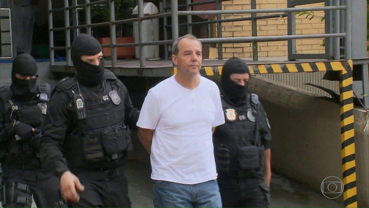 Sérgio Cabral, Adriana Anselmo e outros três réus prestam depoimento nesta quarta (12)