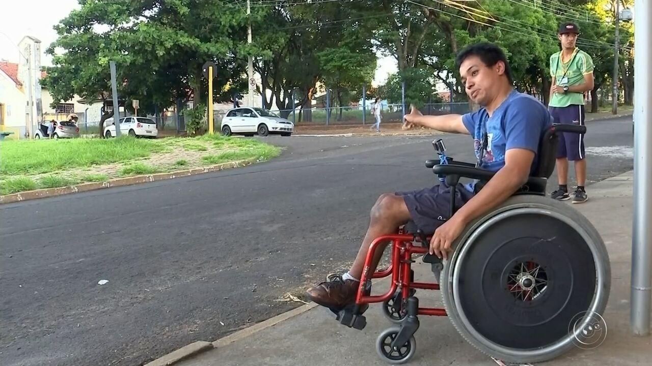Resultado de imagem para Cadeirantes enfrentam dificuldades diárias para se locomover em Bauru