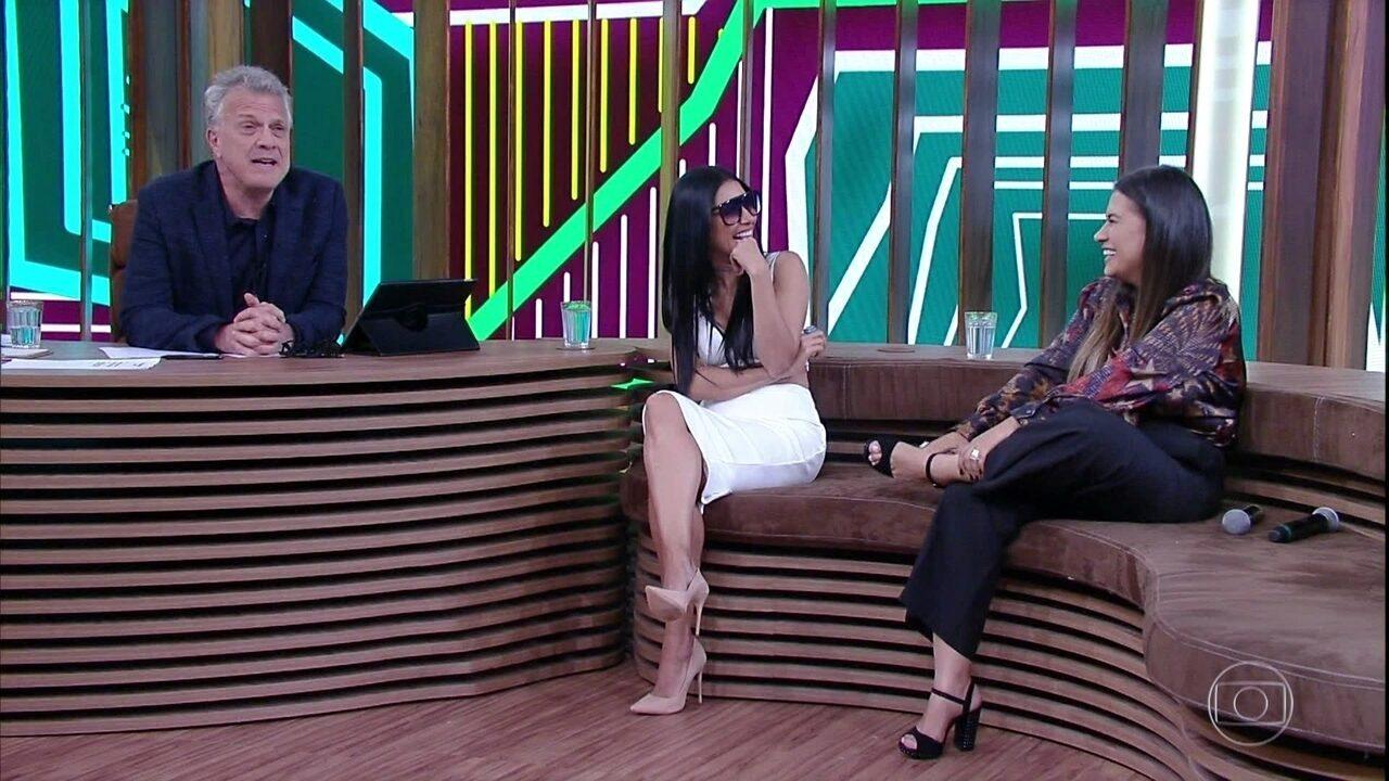Simone e Simaria falam sobre convivência entre elas