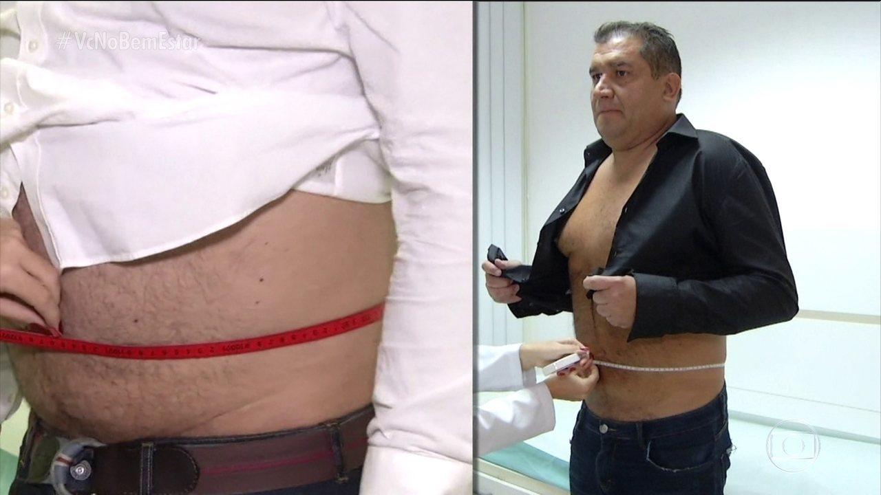 Roberto retira balão gástrico e revela que eliminou 19,5 quilos em seis meses