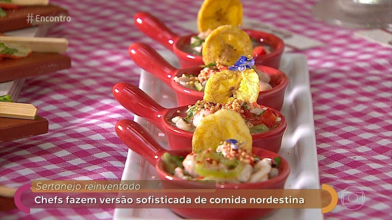 Comidas sertanejas ganham ar sofisticado em Aracaju