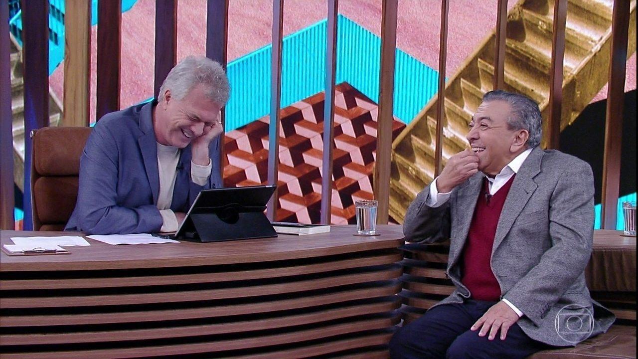 Mauricio de Sousa fala sobre os personagens da Turma da Mônica