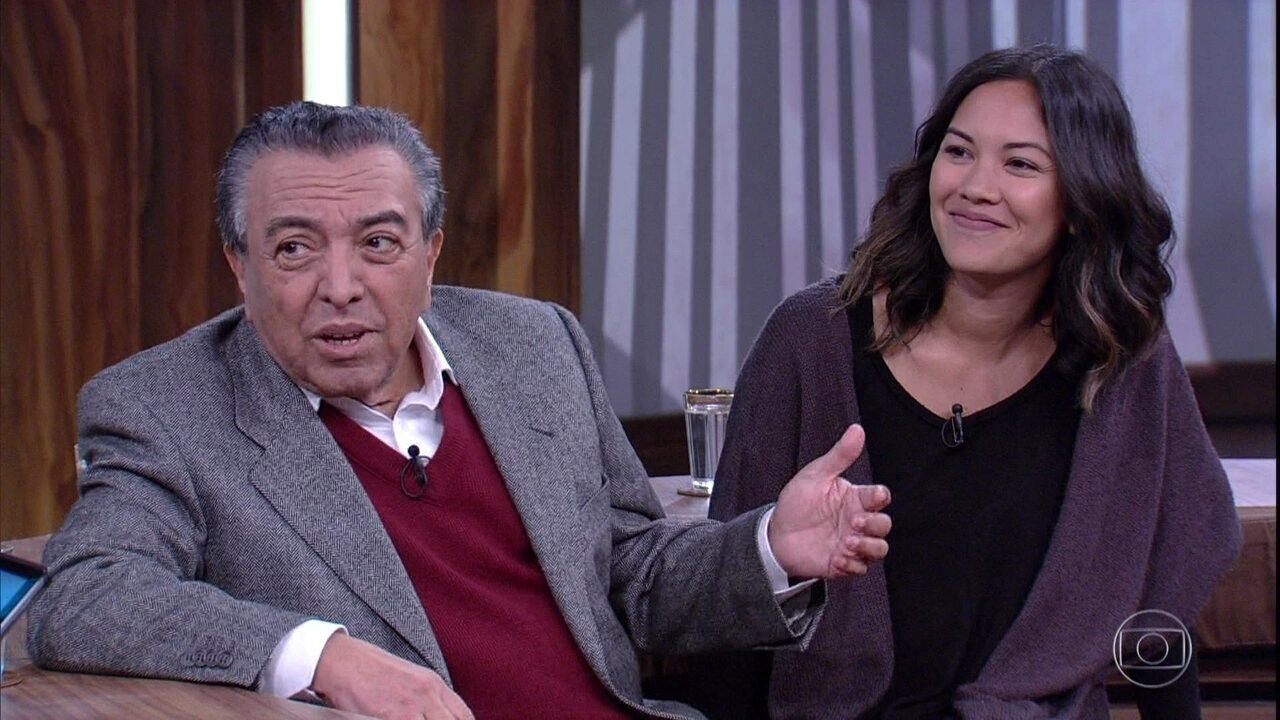 Marina de Sousa revela curiosidades sobre o pai