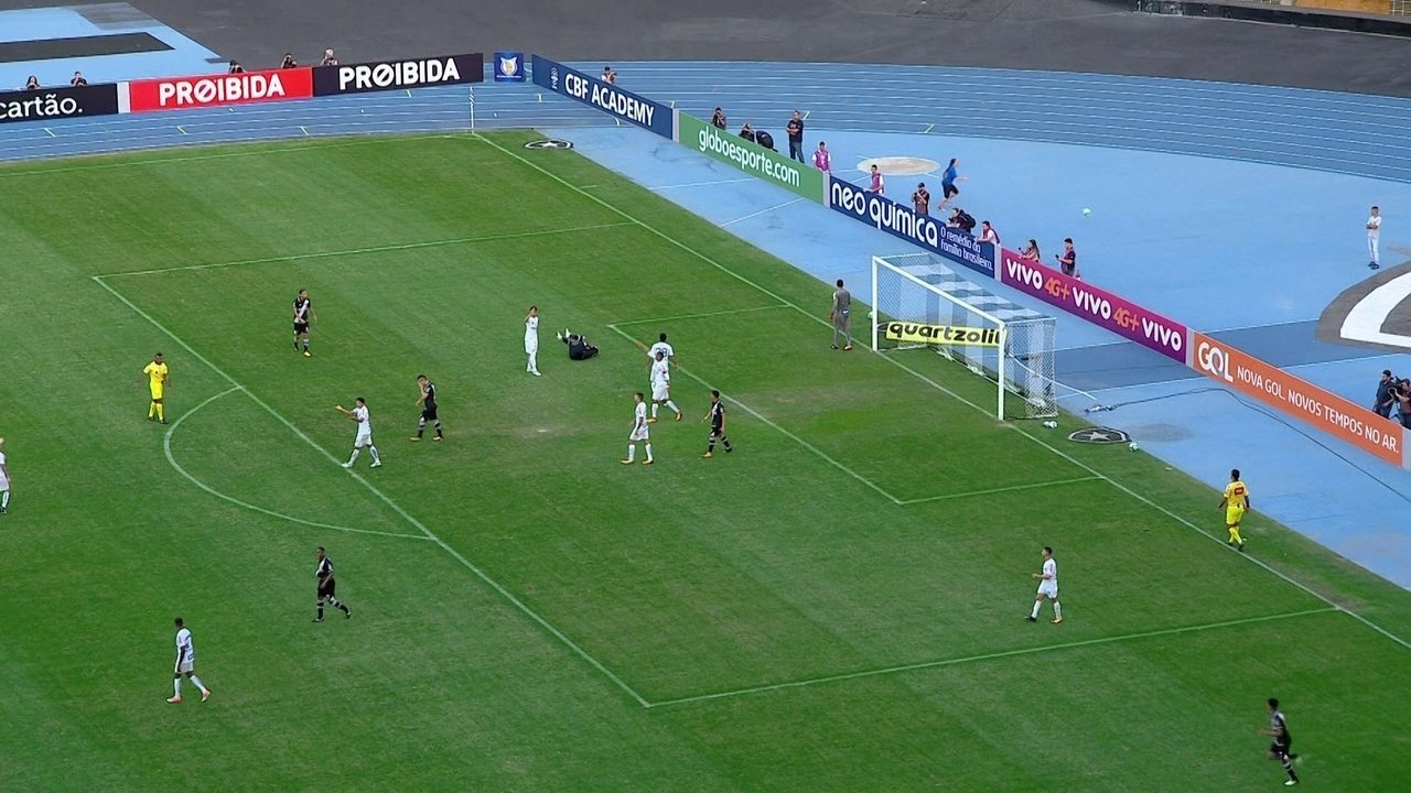 Melhores momentos de Vasco 0 x 0 Santos pela 14ª rodada do Campeonato Brasileiro