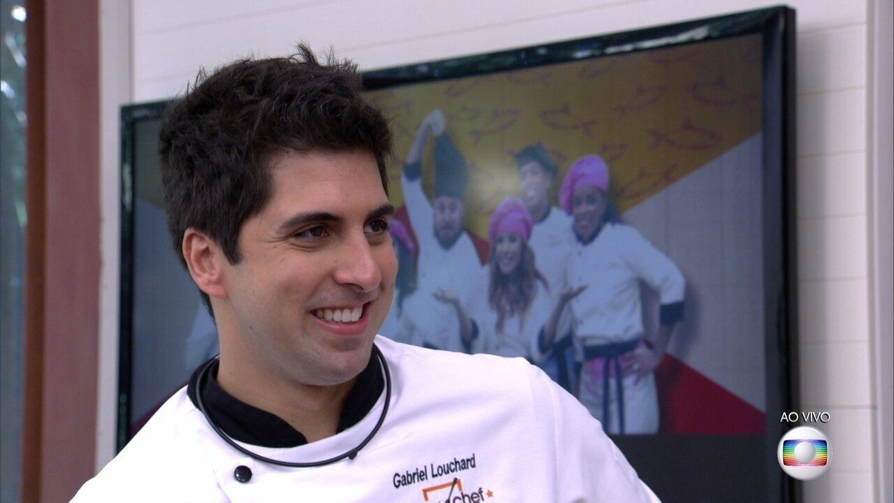 Gabriel Louchard vence a disputa e permanece no Super Chef Celebridades
