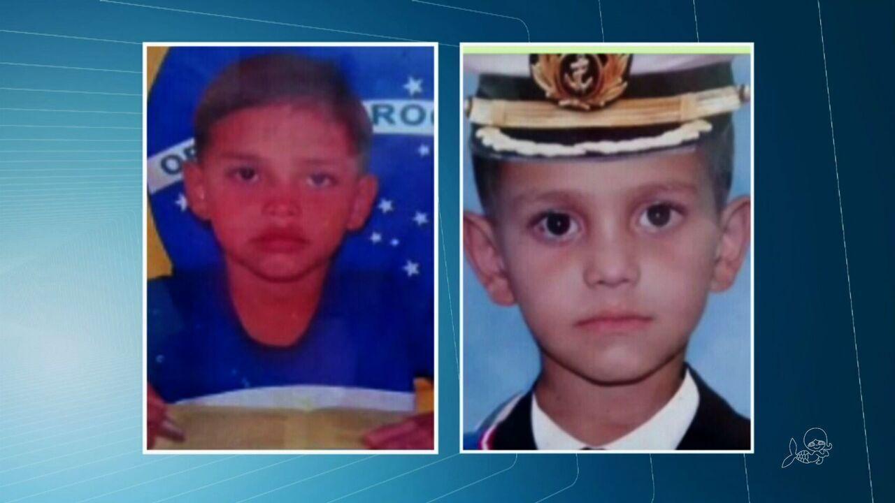 Irmãos de 8 e 10 anos mortos à facada no Brasil