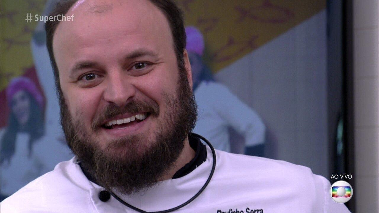Em votação acirrada, Paulinho Serra deixa o 'Super Chef Celebridades'