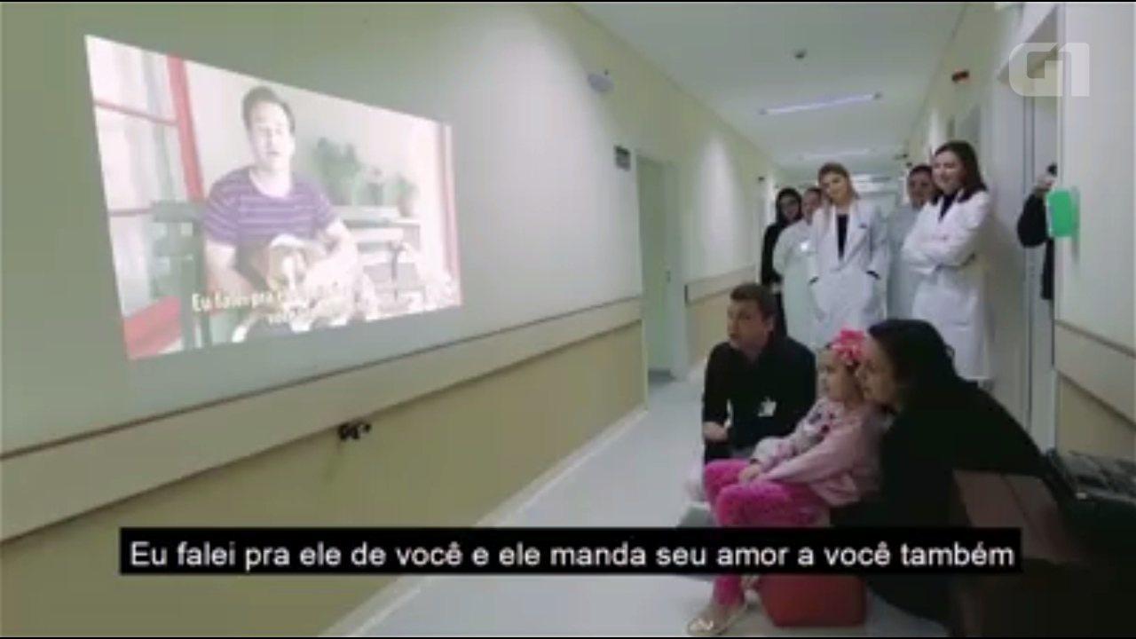 Ator de Grey's Anatomy envia vídeo de incentivo para menina internada em hospital do Paran