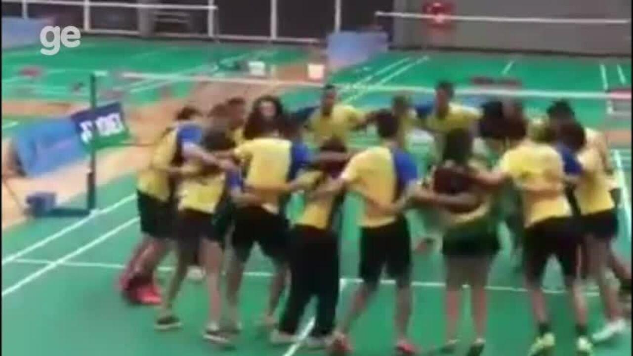 Com cinco piauienses, Brasil disputa o Pan Jr de badminton no Canadá