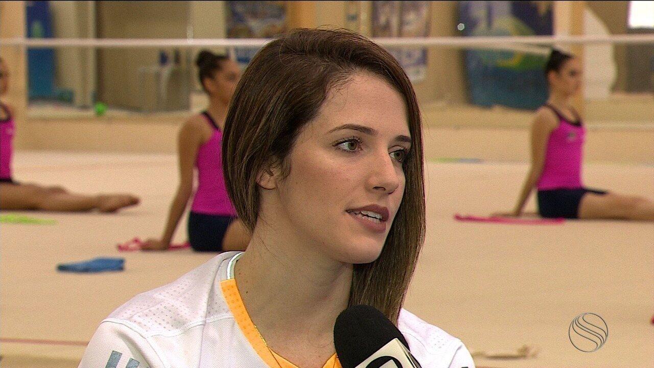 Em Aracaju, Natália Gaudio fala sobre lesão e próximas competições internacionais