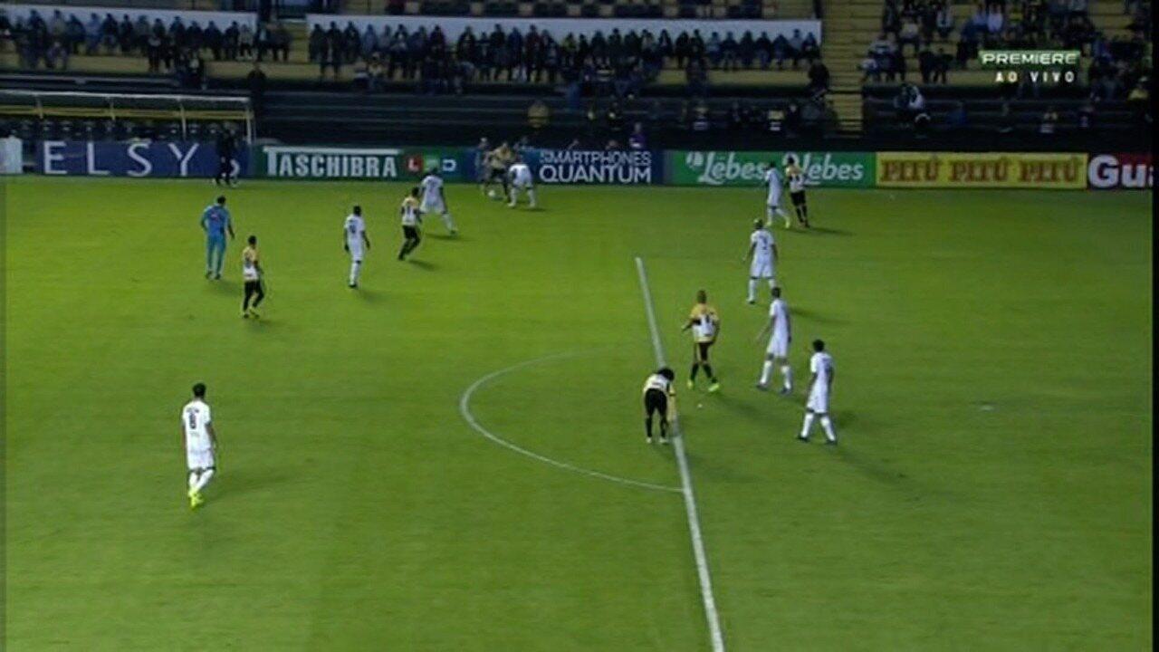 Caio Rangel aproveita rebote e marca o segundo do Criciúma contra o ABC