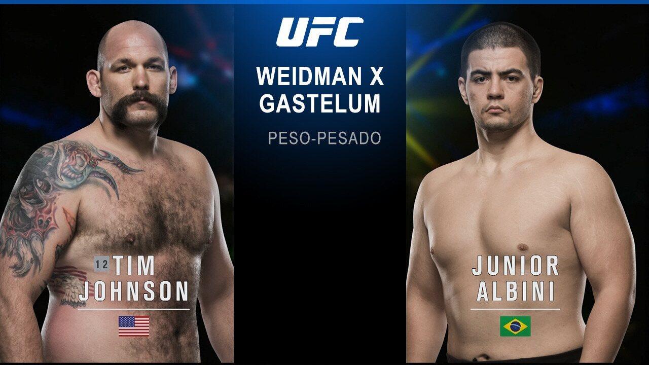 UFC Weidman x Gastelum - Timothy Johnson x Junior