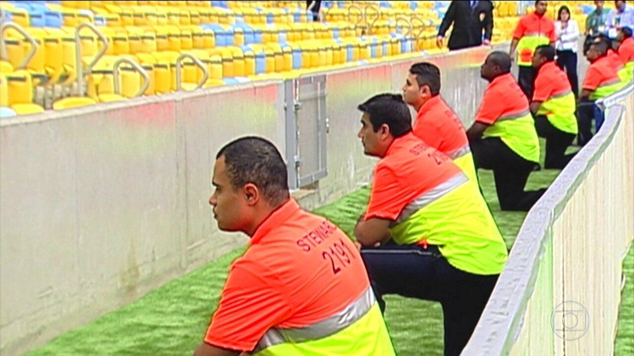 Cultura de seguranças privados segue no futebol nacional para tentar conter a violência