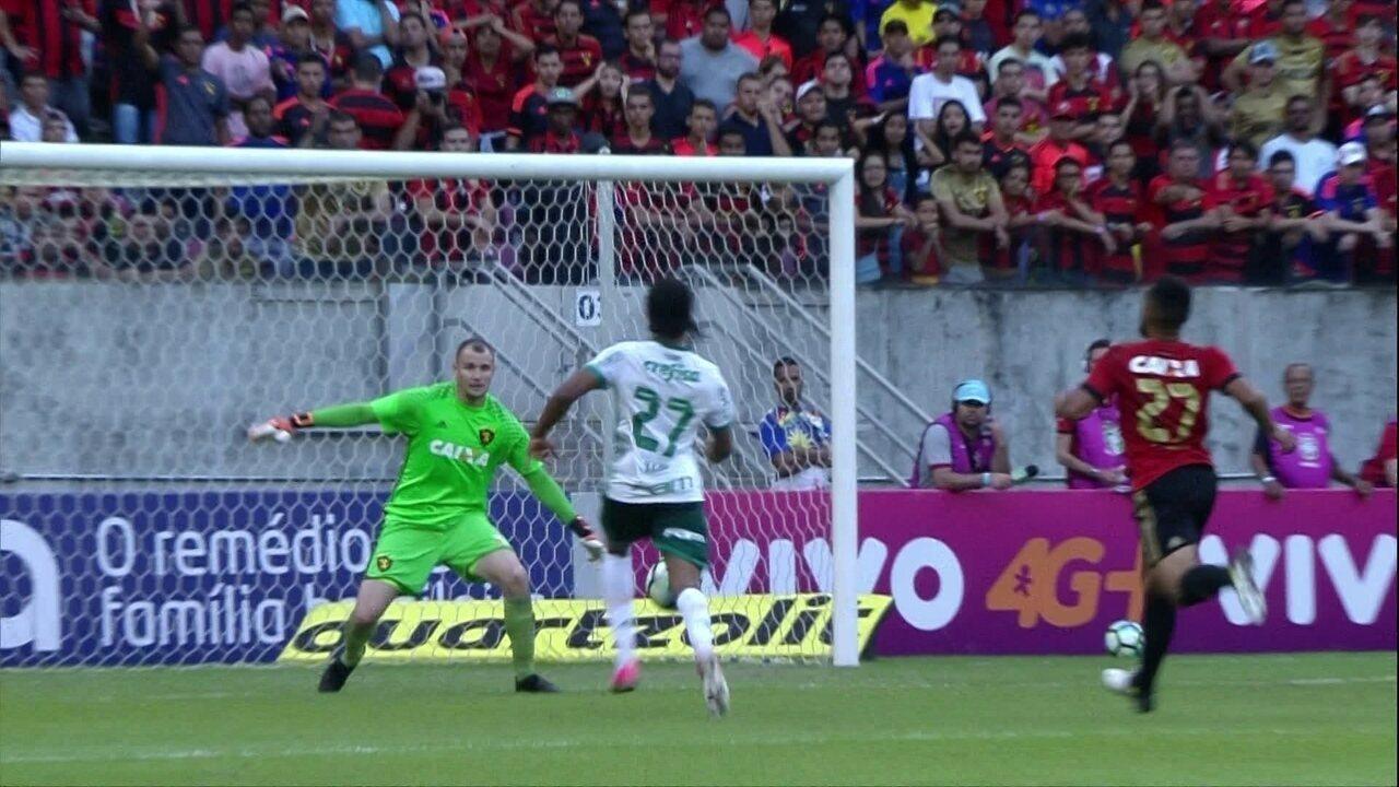 Melhores momentos: Sport 0 x 2 Palmeiras pela 16ª rodada do Brasileirão