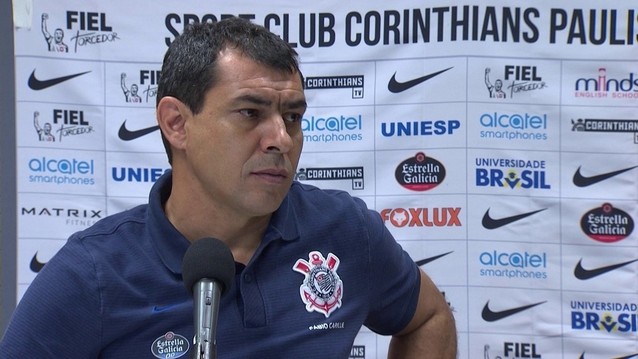Veja a entrevista de Fábio Carille, do Corinthians, após vitória sobre o Fluminense