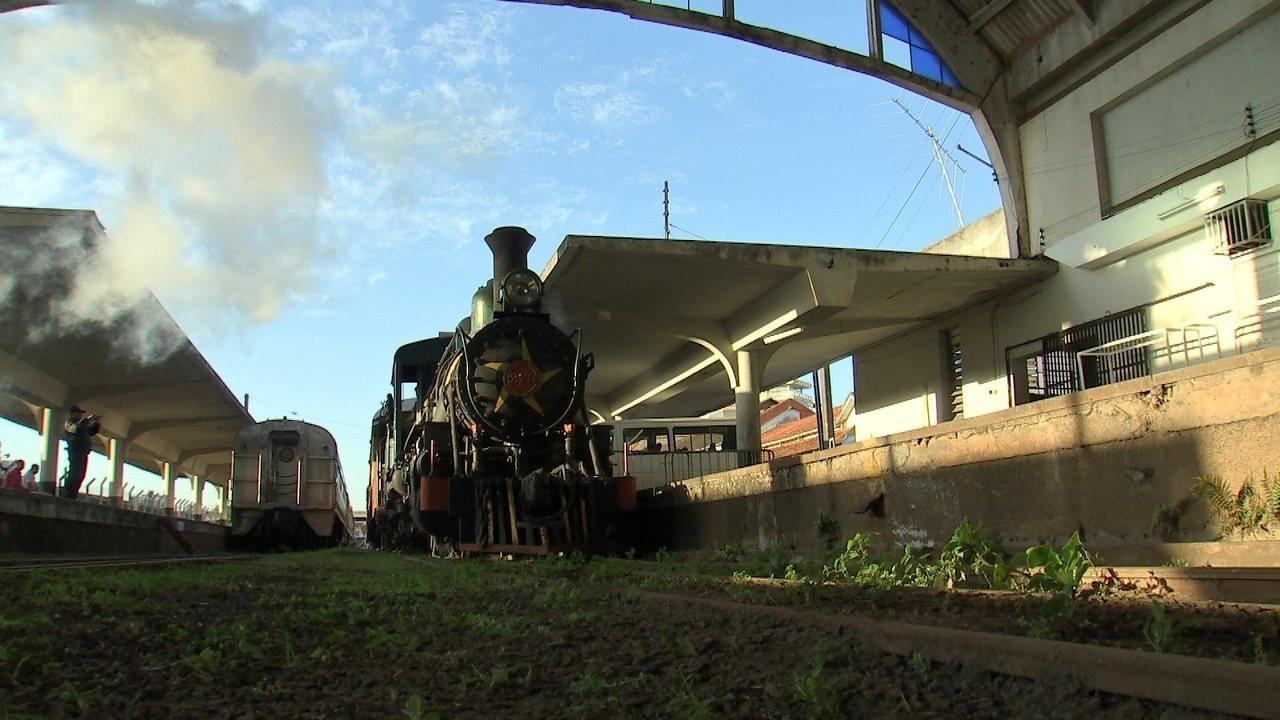 A ferrovia paulista é uma jóia do interior!