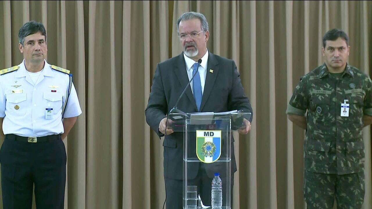 Temer autoriza envio das Forças Armadas para o Rio de Janeiro