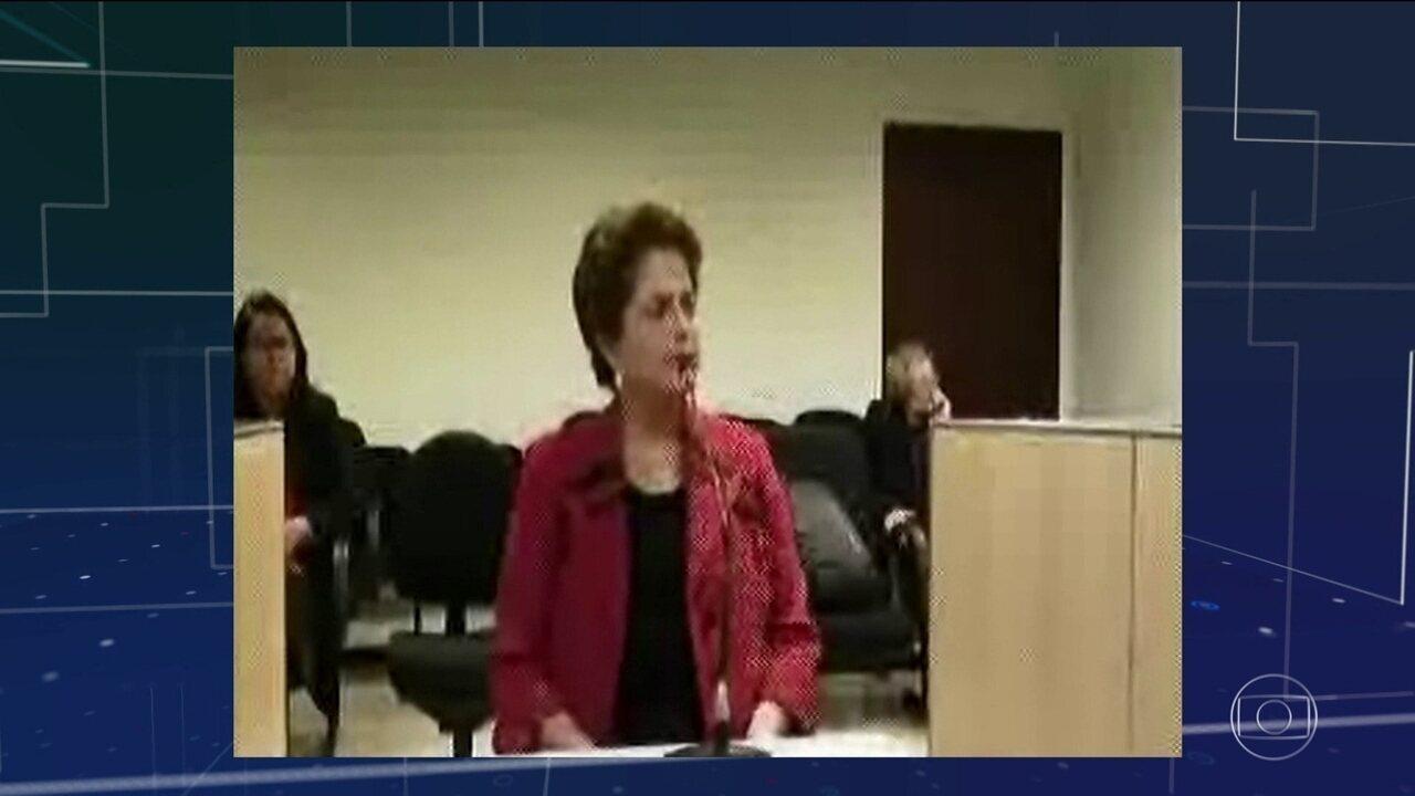 Dilma depõe em Porto Alegre na defesa da senadora petista Gleisi Hoffmann