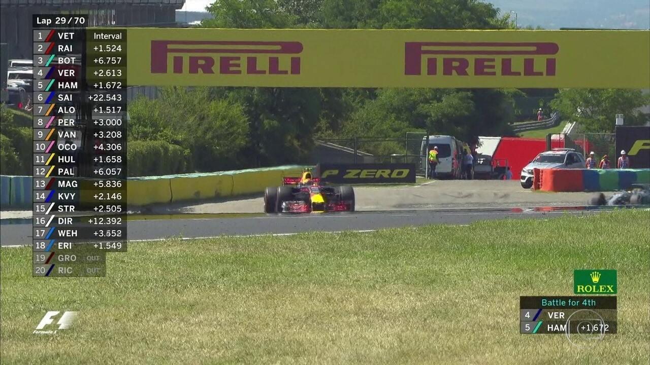 Daniel Ricciardo está muito bravo com Vestappen: