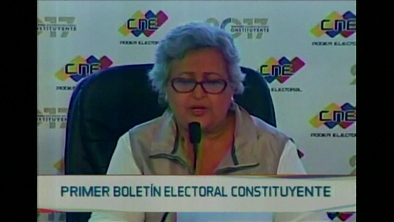 Conselho Eleitoral venezuelano confirma mais de 8 milhões de eleitores para a Constituinte