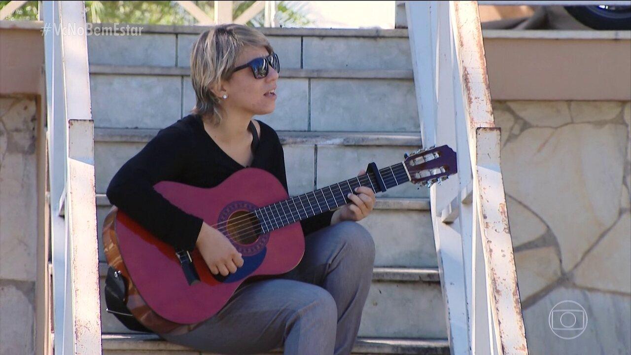 Cantora perde visão como consequência de uma diabetes mal cuidada