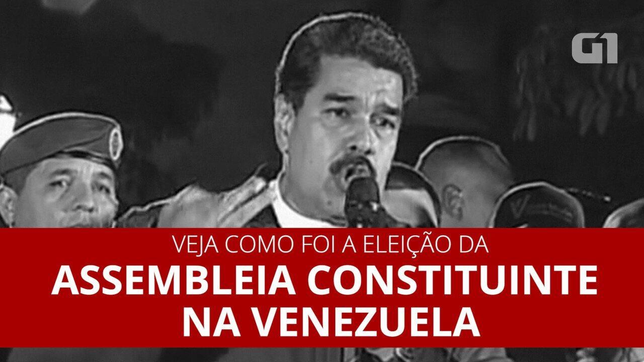 Eleição de Assembleia Constituinte na Venezuela foi marcada pela violência