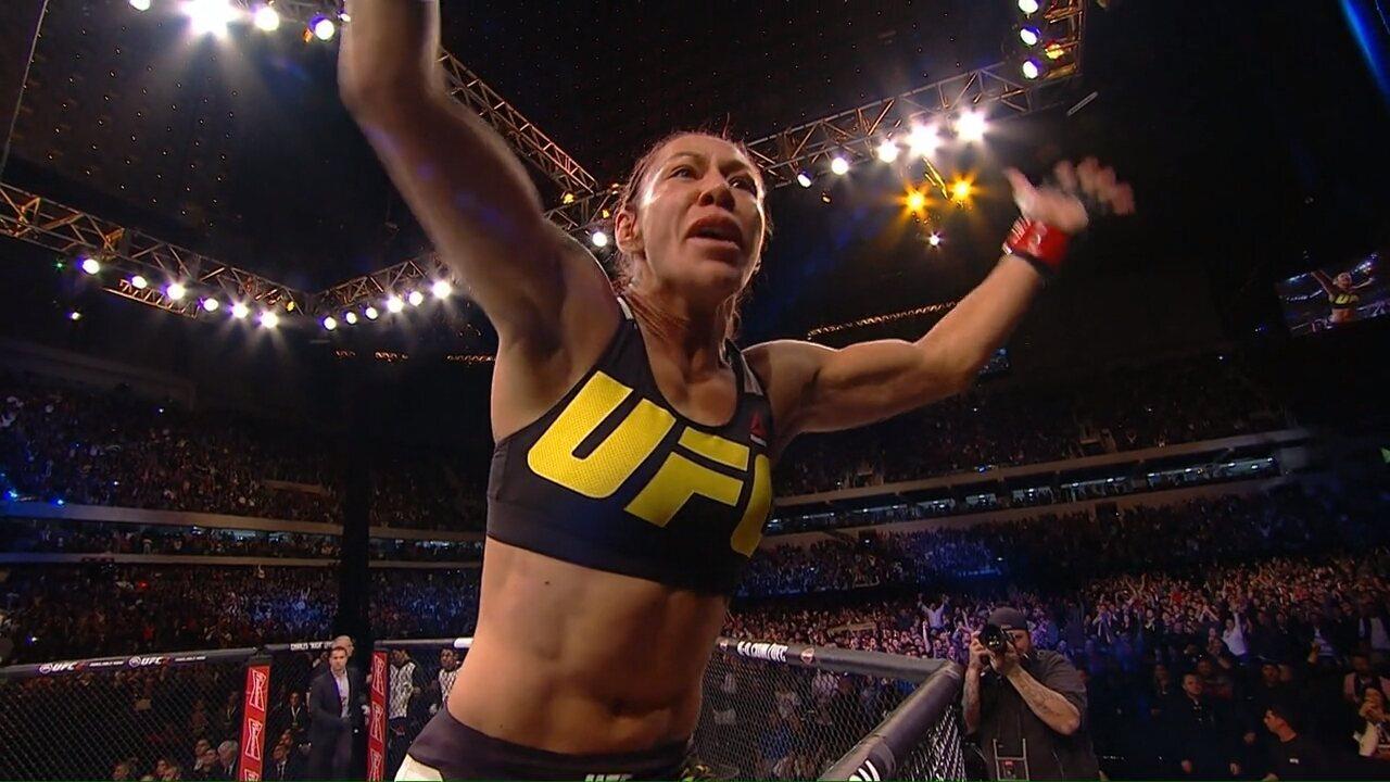 O GE acompanhou Cris Cyborg em sua conquista do cinturão do UFC