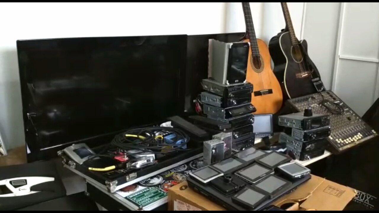 Polícia Civil de Londrina faz grande apreensão de produtos furtados e roubados