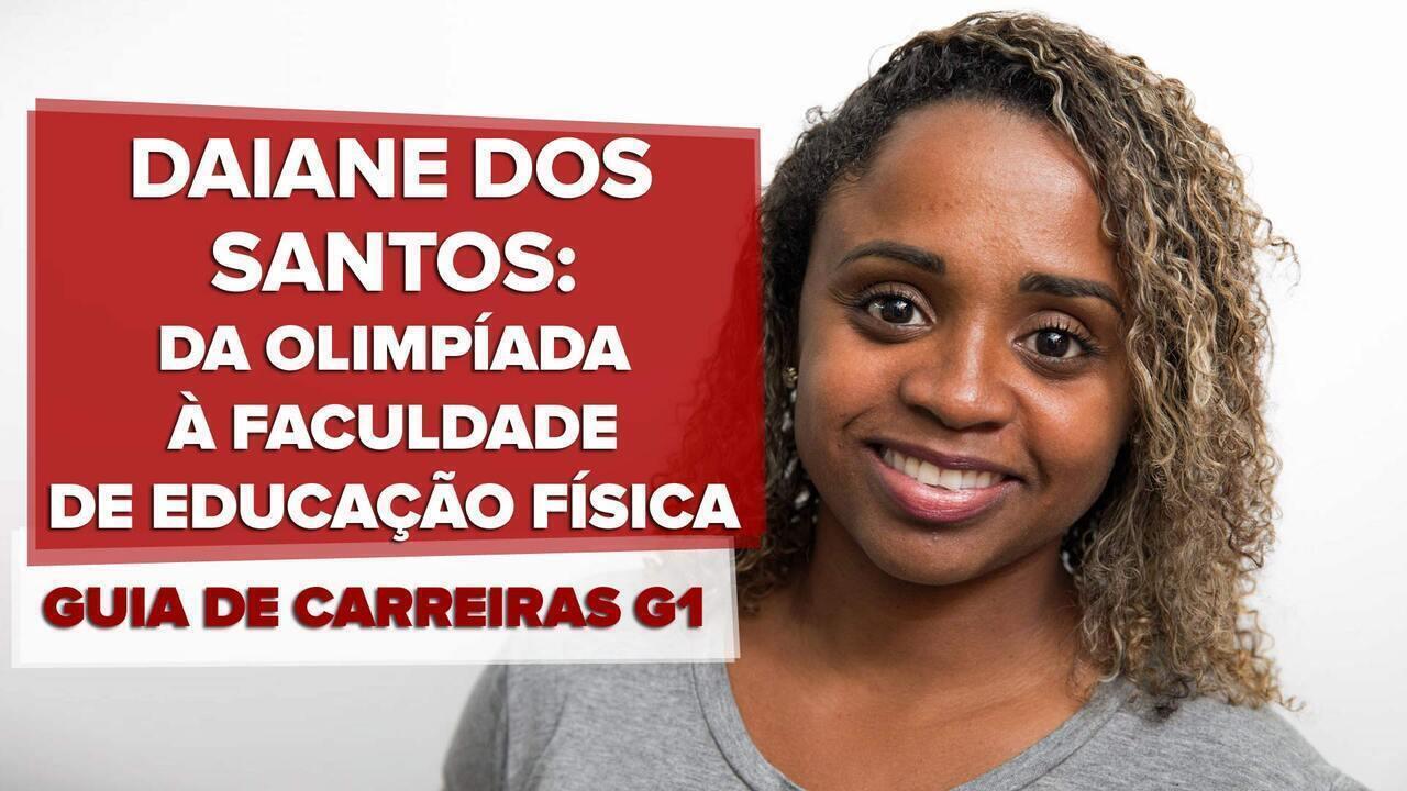 Guia de Carreiras – educação física: entrevista com Daiane dos Santos