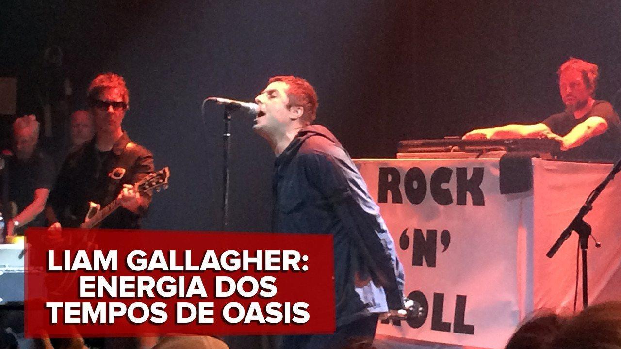 Veja trecho de show de Liam Gallagher em apresentação antes do Lollapalooza Chicago, nos EUA
