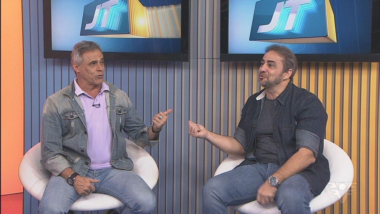 Oscar Magrini e Fábio Goulart falam sobre o filme 'Os Parças'