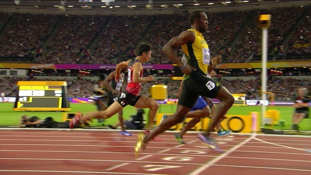 Usain Bolt vence a sexta bateria dos 100m rasos do Mundial de atletismo