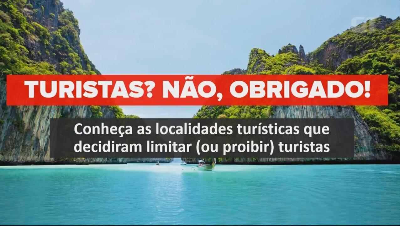 Localidades que não querem mais turistas