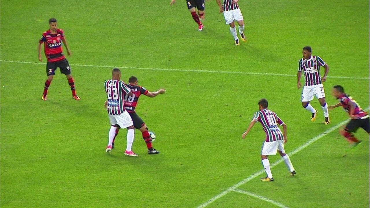Melhores momentos: Fluminense 3 x 1 Atlético-GO pela 19ª rodada do Brasileirão