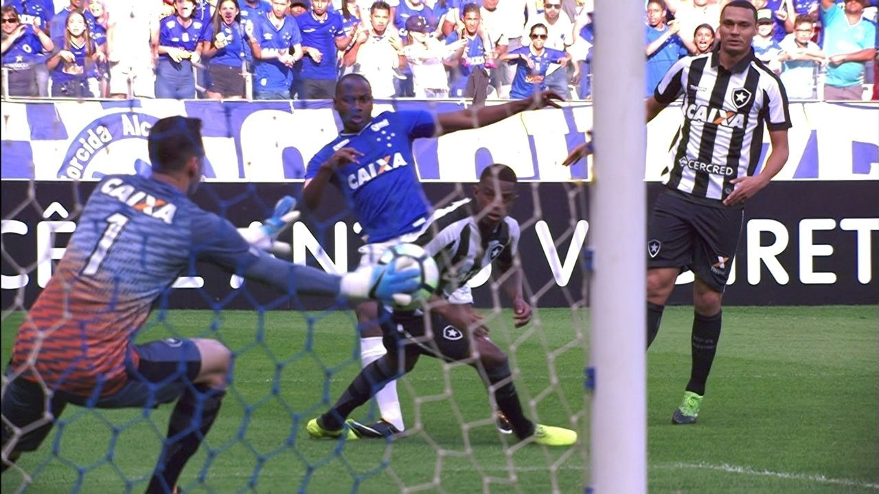 Melhores momentos de Cruzeiro 0 x 0 Botafogo pela 19ª rodada do Campeonato Brasileiro