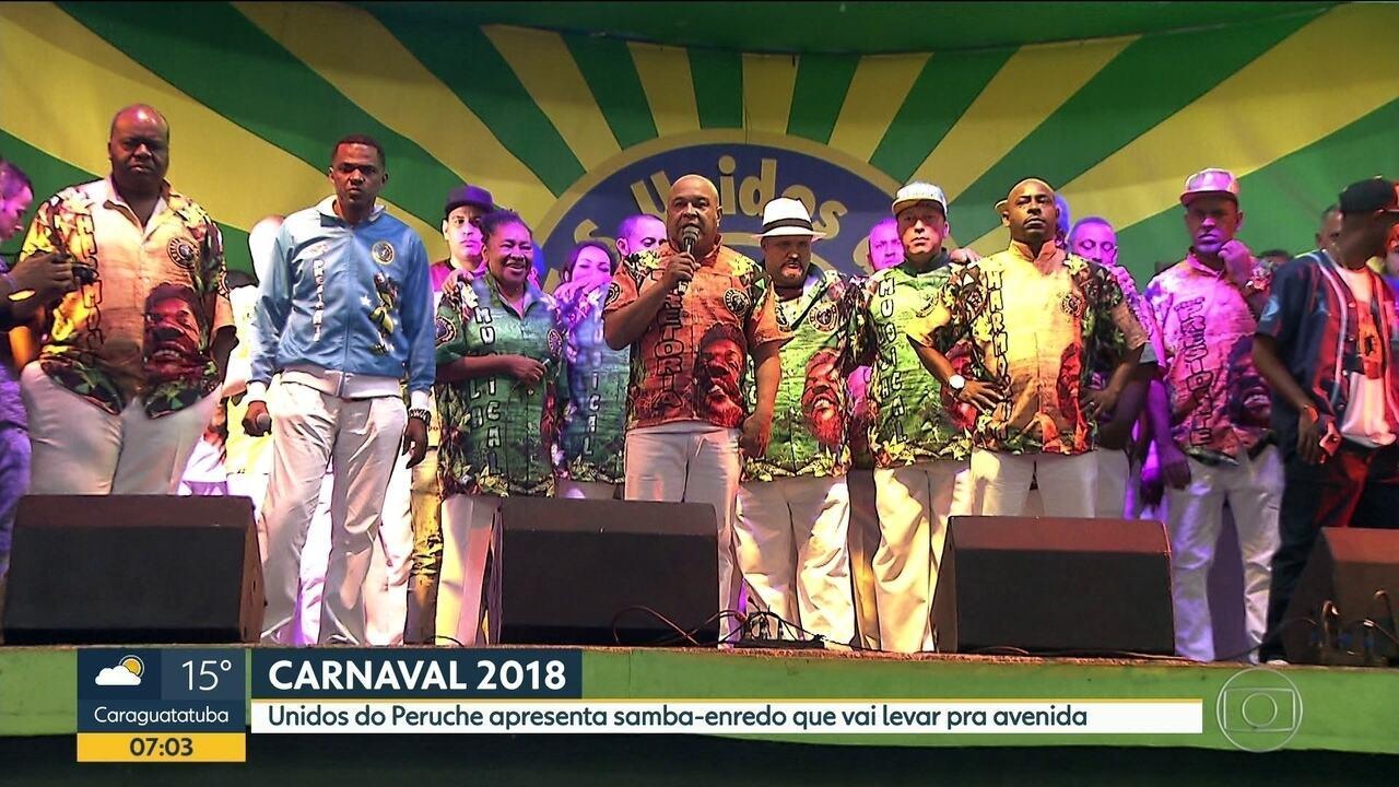 Unidos do Peruche vai homenagear Martinho da Vila no samba-enredo 2018