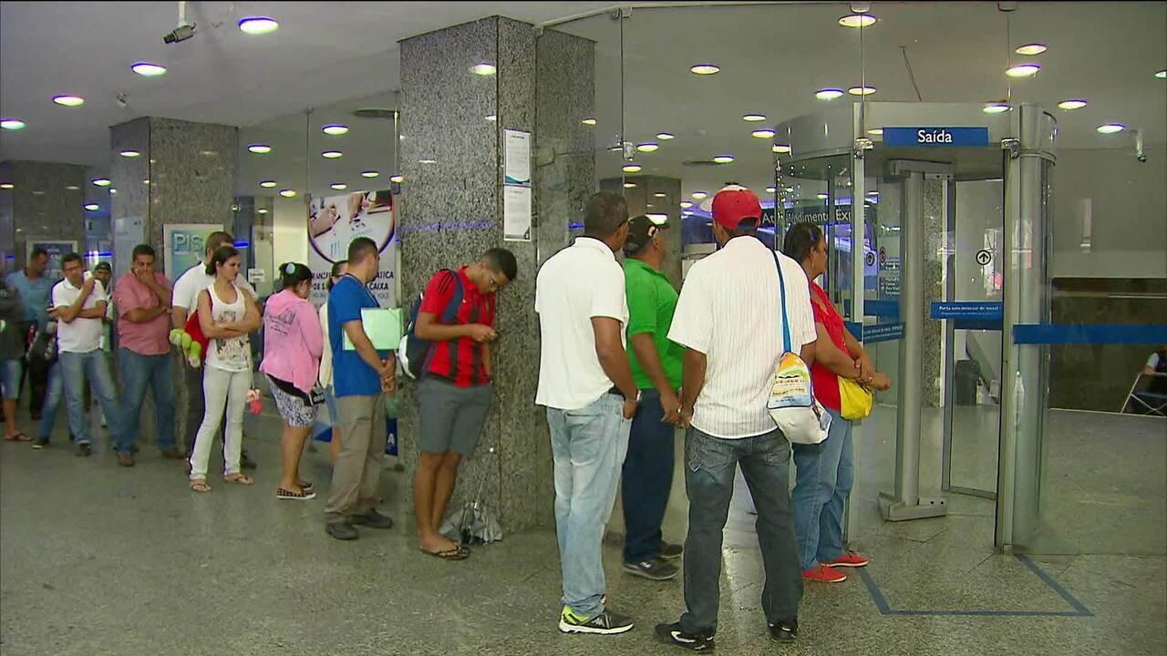 Cerca de R$ 44 bilhões foram sacados das contas inativas do FGTS