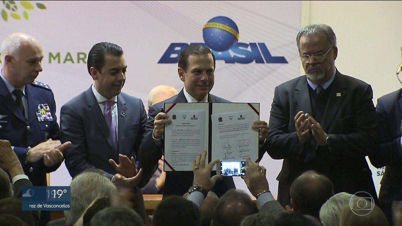 Governo Federal libera para prefeitura a área do futuro parque Campo de Marte