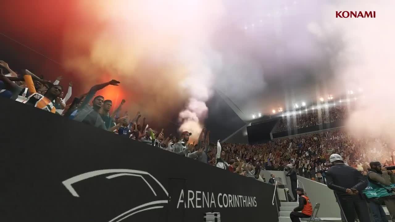 PES 2018 - Trailer mostra estádio de São Januário e jogadores do Brasileirão