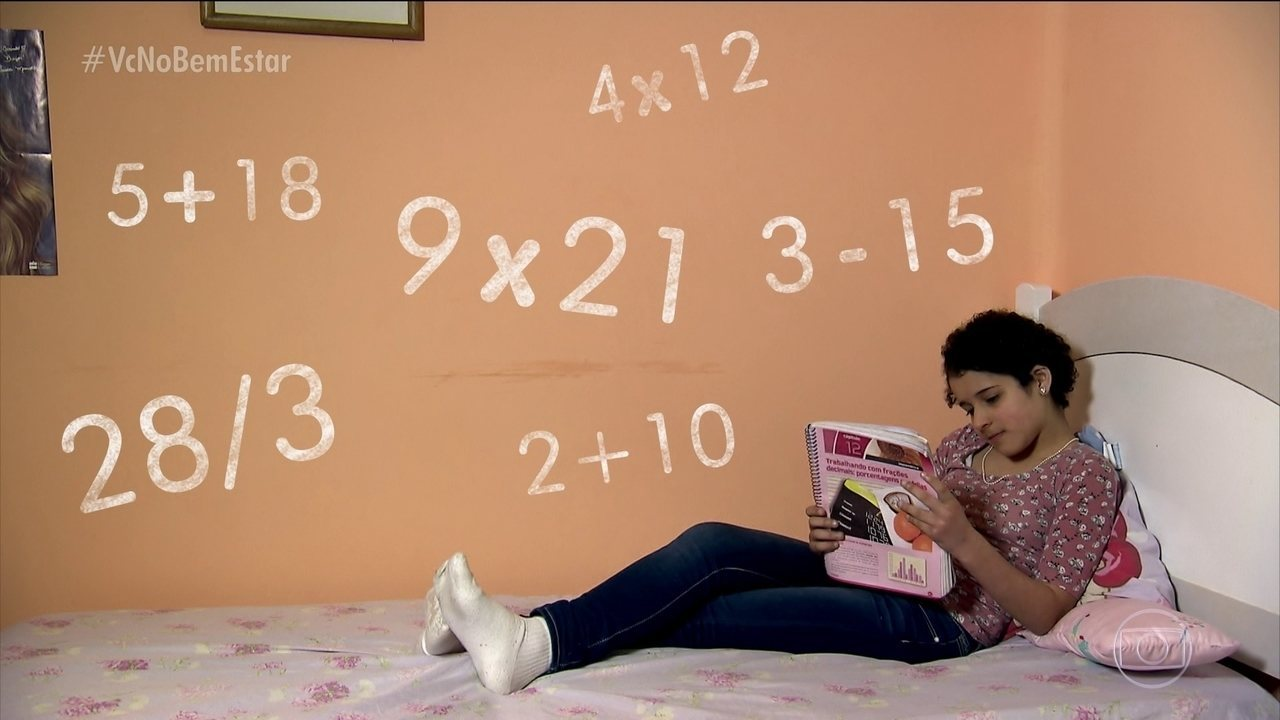 Discalculia é um distúrbio associado à confusão com números