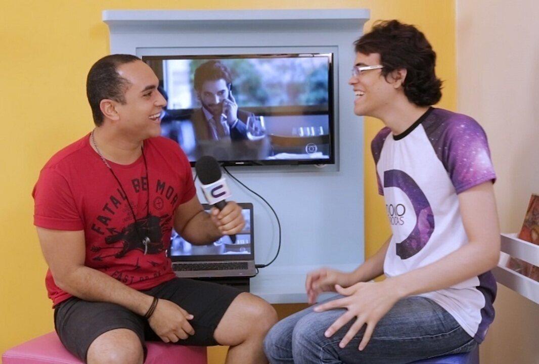 Youtuber Diogo Bellau fala sobre seu trabalho com dublagens