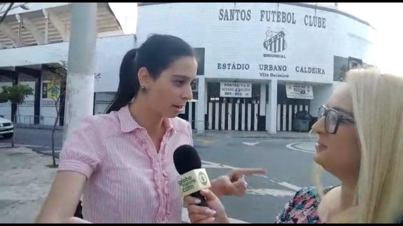 Nadja Mauad E Monique Silva Respondem Aos Torcedores Do Atlético Pr Direto Da Vila Belmiro