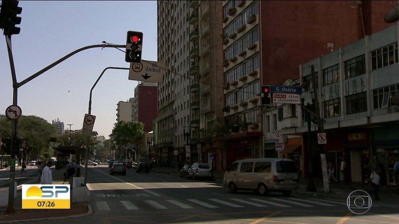 Bom Dia São Paulo encontra vários semáforos com problemas na capital